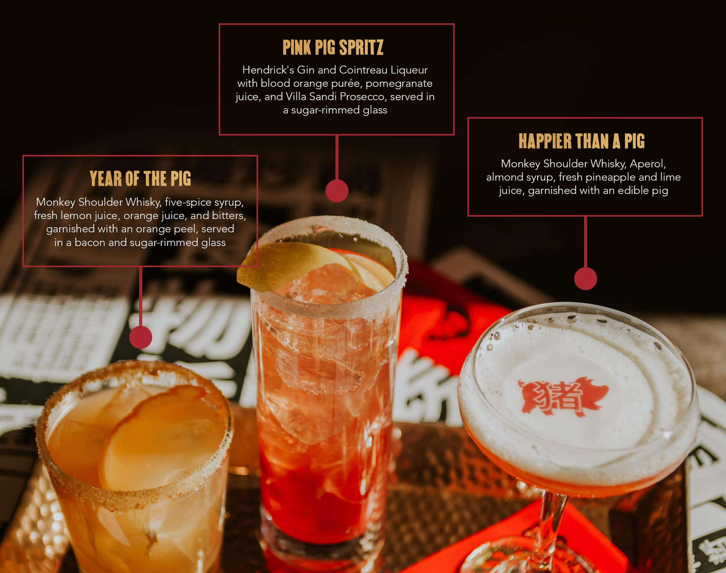 Chinese New Year Featured Drinks